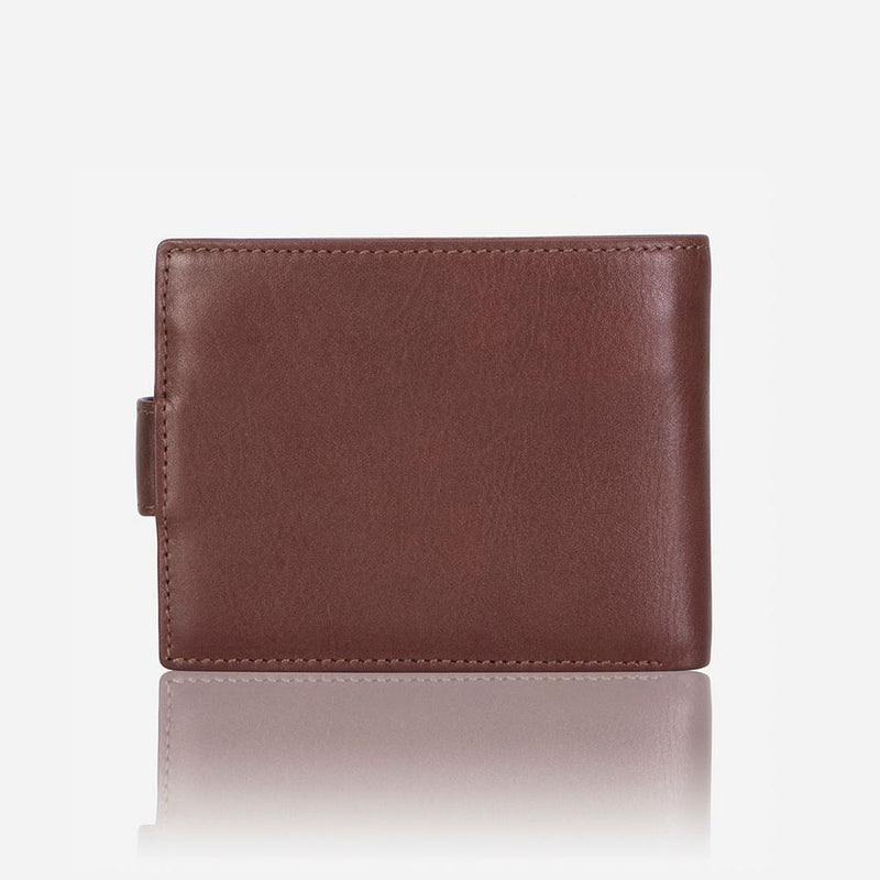 Brando Dakota Multi Card Trifold Wallet With Inner Zip