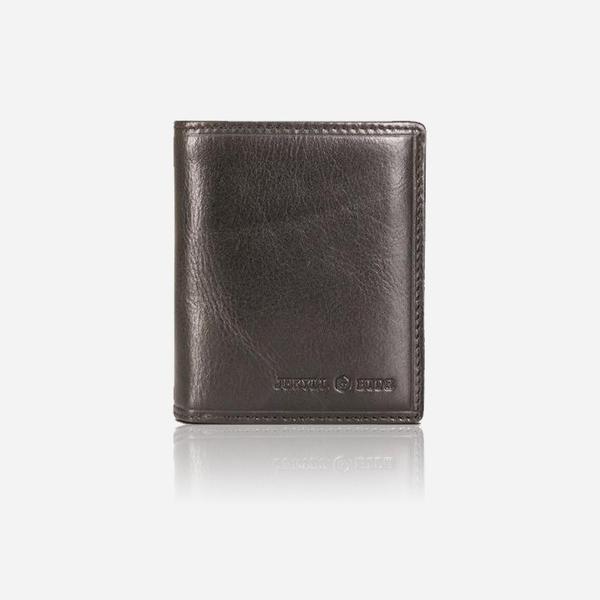 Jekyll And Hide Oxford Flip Over Leather Wallet Black