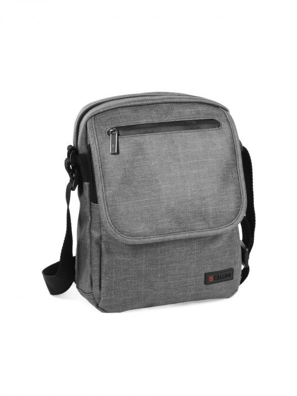 Cellini Origin Reporter/Sling Bag Grey