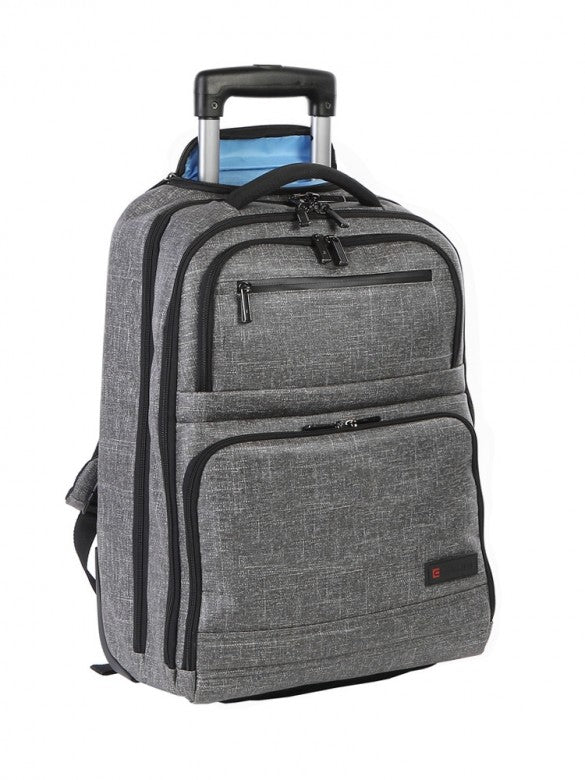 Cellini Origin Trolley Backpack Slate Grey