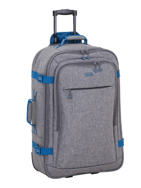 Voyager Fusion 70cm 2 Wheel Trolley Case Grey
