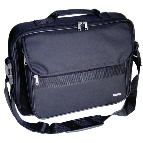 Gino De Vinci Business Laptop Bag Black