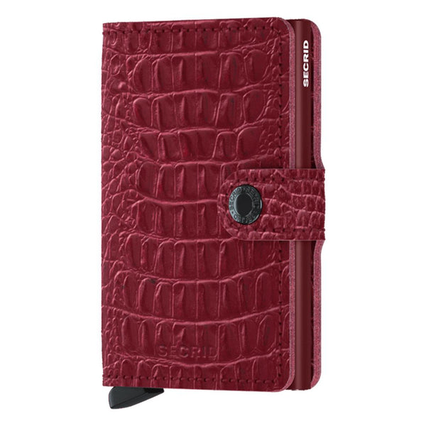 Secrid Nile Mini Wallet Ruby