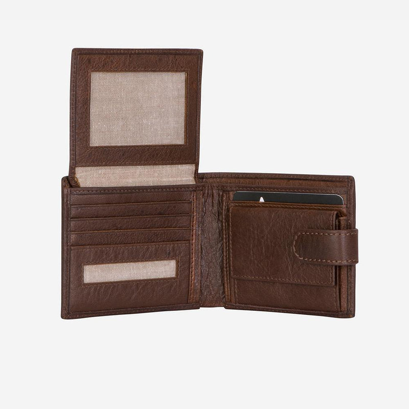 Brando Impala Multi Card Wallet Light Brown