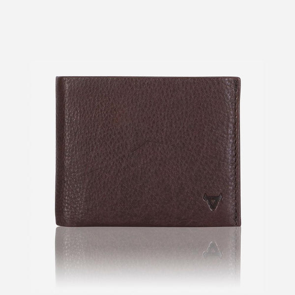 Brando Impala Bi-fold Multi Card Wallet Brown