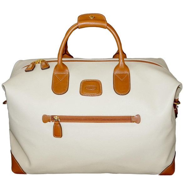 Bric's Bojola 43cm Cabin Carry-On Duffel Bag Cream