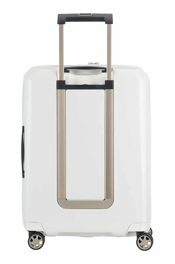 Samsonite Prodigy Spinner Expandable 55cm/22″ Off Ivory Gold