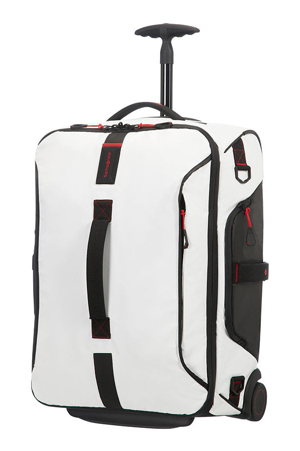 Samsonite Paradiver Light 55cm Duffle On Wheels Backpack White