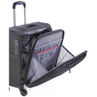Cellini Xpress 4 Wheeled Business Case Jet Black