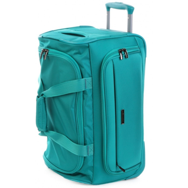Cellini Carry On Trolley Duffle Teal