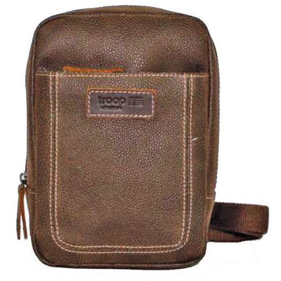 Troop London Body Bag Brown