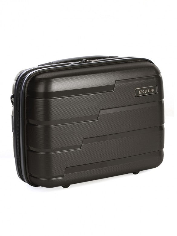 New Cellini Microlite Beauty Case Black