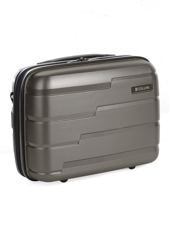 New Cellini Microlite Beauty Case Charcoal