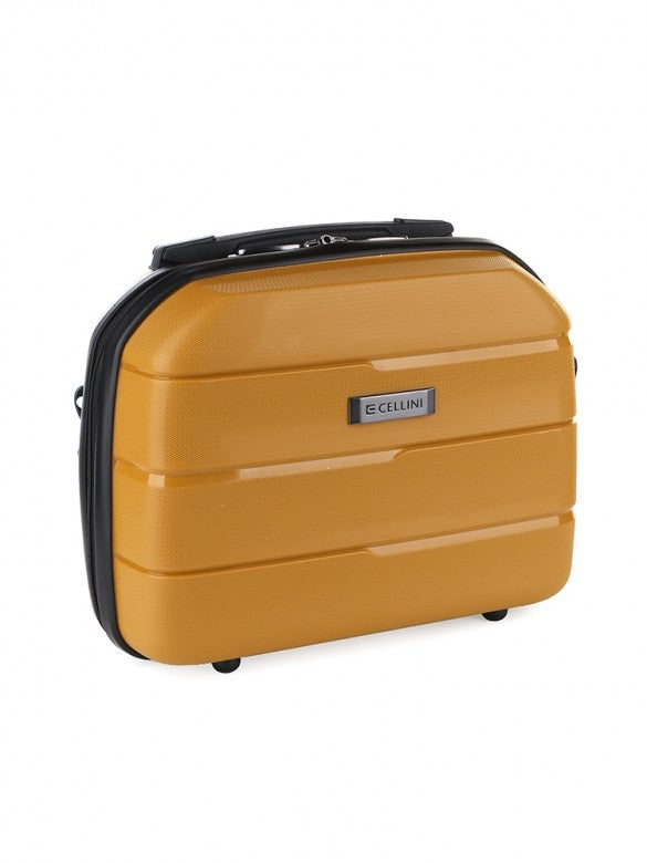 Cellini Spinn Beauty Case Mustard
