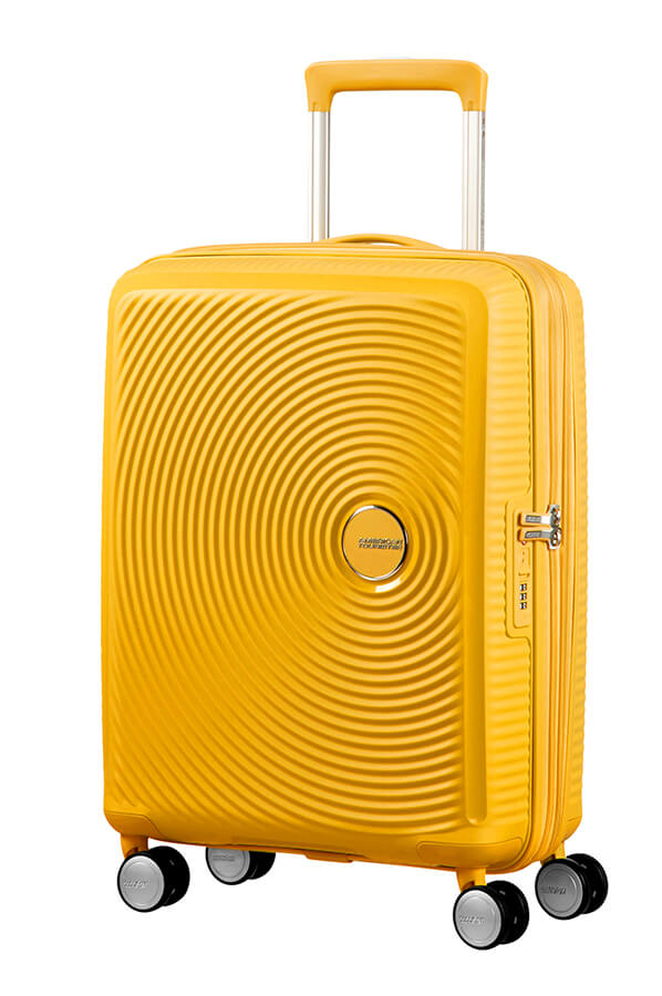 American Tourister Soundbox Expandable 55cm Golden Yellow