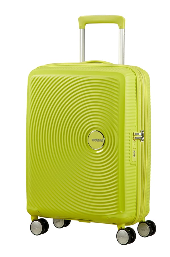 American Tourister Soundbox Expandable 55cm Tropical Lime
