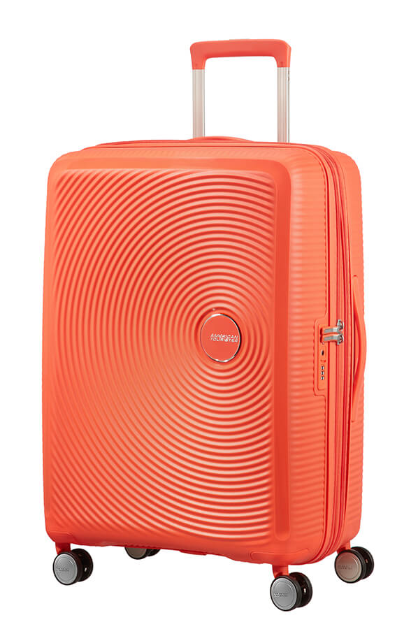 American Tourister Soundbox 3 Piece Set Spicy Peach