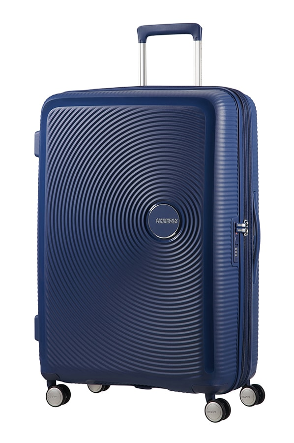 American Tourister Soundbox Expandable 77cm Midnight Blue