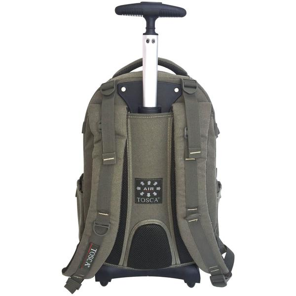 Tosca Canvas 15-Inch Laptop Trolley Bag