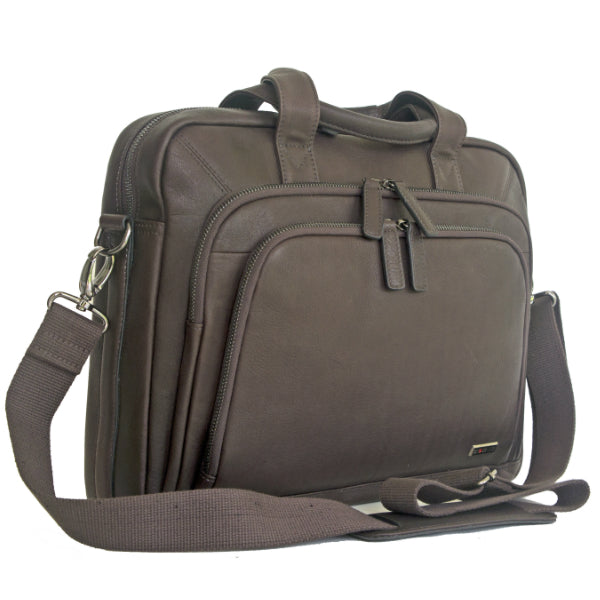 Gino De Vinci Columbia Bag Brown