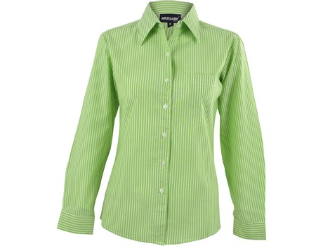 Ladies Long Sleeve Drew Shirt - Lime Only
