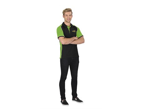 Mens Nitro Golf Shirt - Lime Only