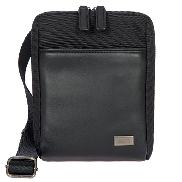 Brics Monza Compact Shoulder Bag Black
