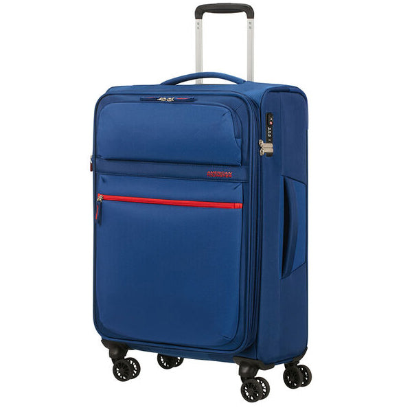 American Tourister Matchup 78cm Neon Blue