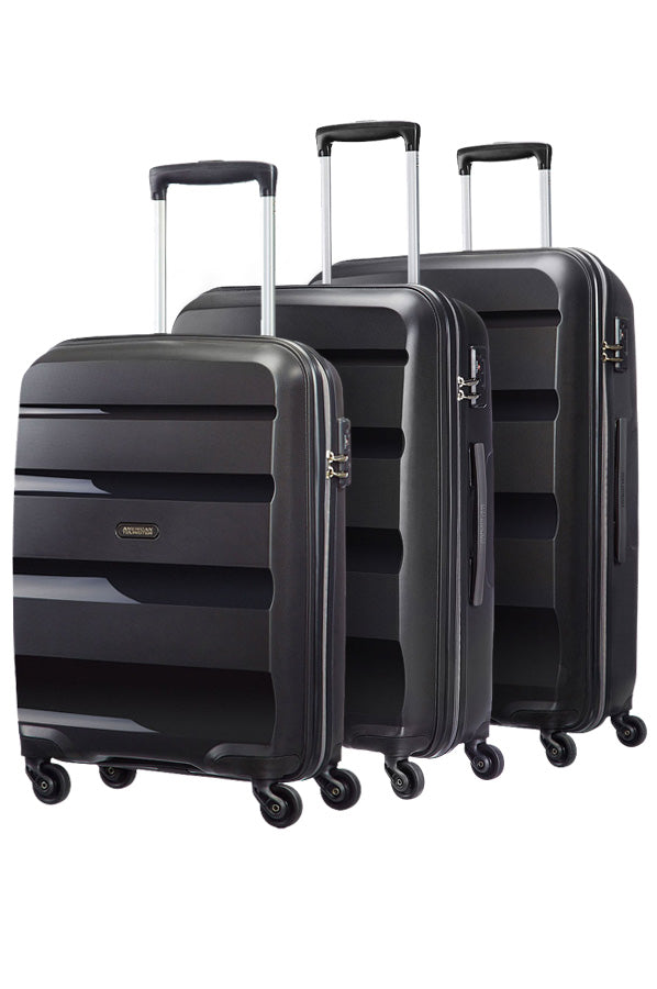 American Tourister Bon Air 3 Piece Set Black