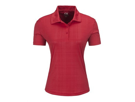 Ladies Sullivan Golf Shirt - Red Only