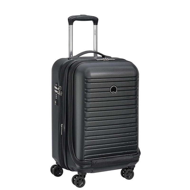 Delsey Segur 2.0 Expandable Business Cabin Case Black