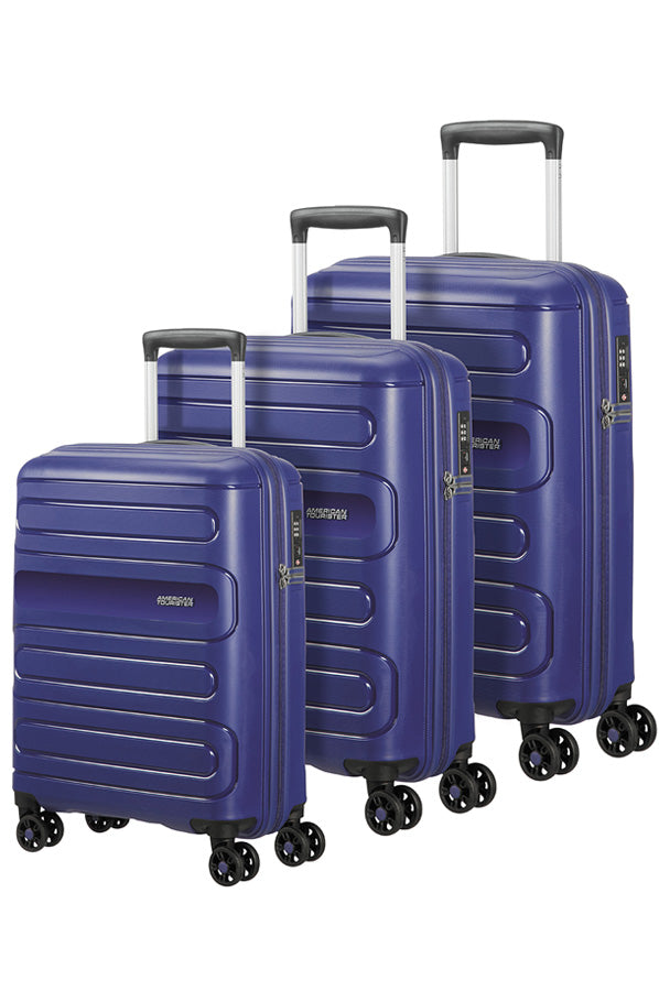 American Tourister Sunside 3 Piece Set Navy Blue