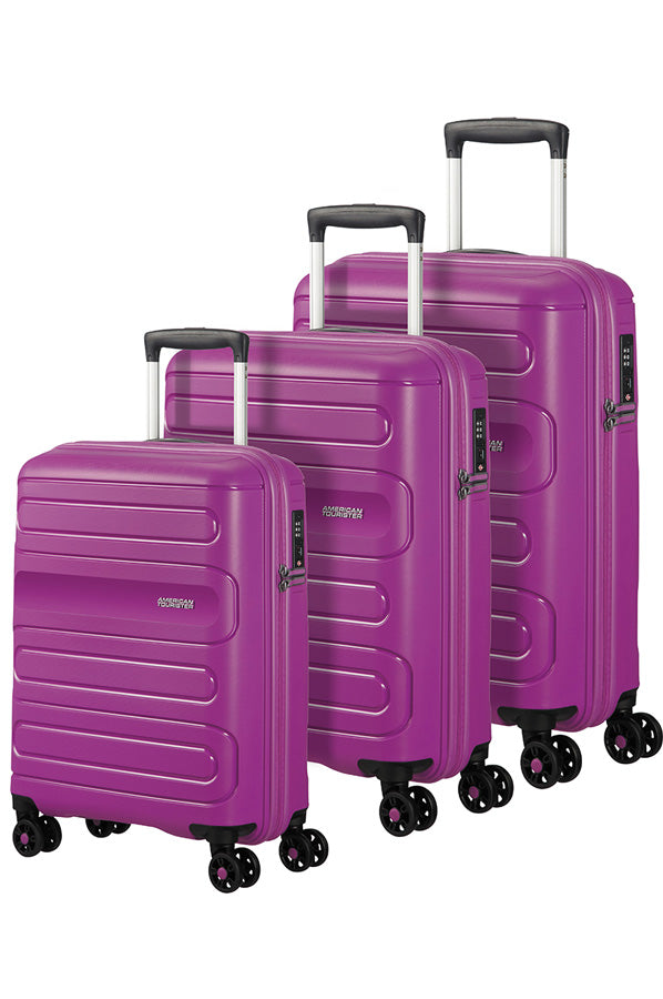 American Tourister Sunside 3 Piece Set Ultraviolet