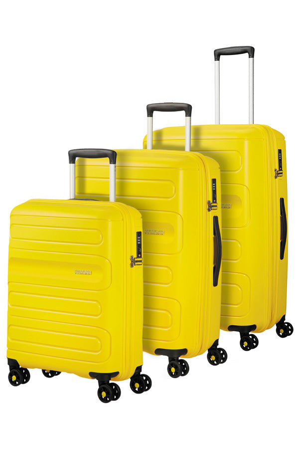 American Tourister Sunside 3 Piece Set Sunshine Yellow