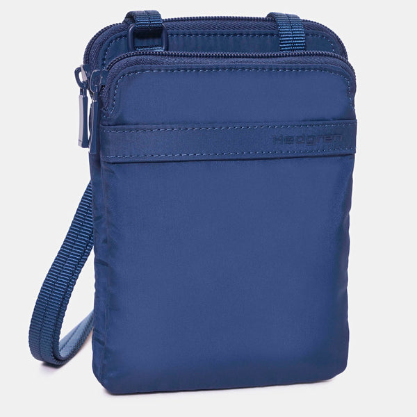 Hedgren Follis Passport Holder Dress Blue