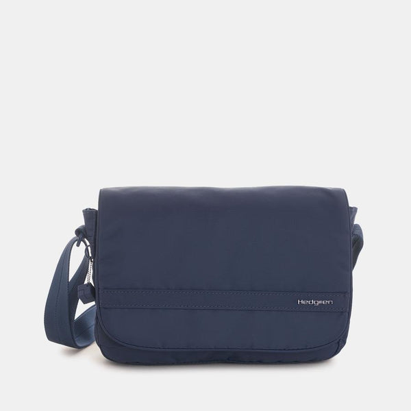 Hedgren Charlie Crossover With Flap RFID Dress Blue