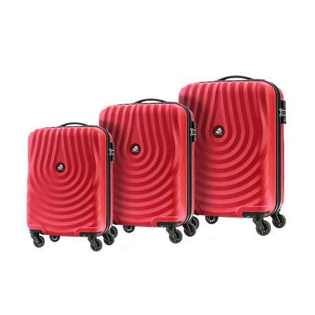 American Tourister Kamiliant Kapa 3 Piece Set Carmine Red