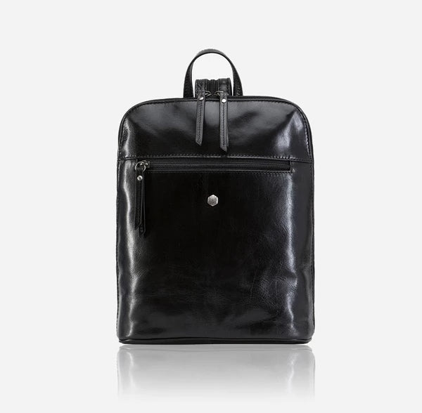 Jekyll And Hide Oxford Ladies Modern Backpack Black