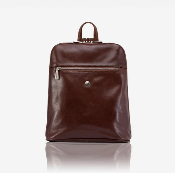 Jekyll And Hide Madrid Ladies Modern Backpack Burgundy