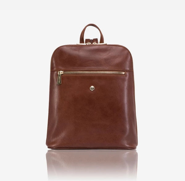 Jekyll And Hide Madrid Ladies Modern Backpack Tan