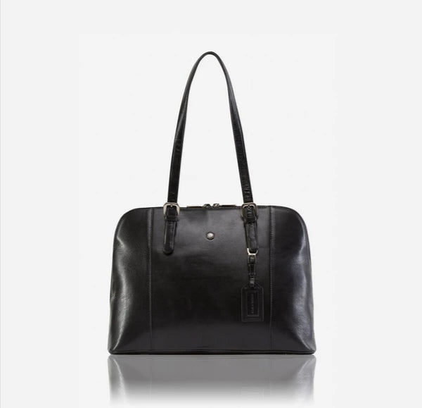 Jekyll And Hide Madrid Ladies Business Handbag Black