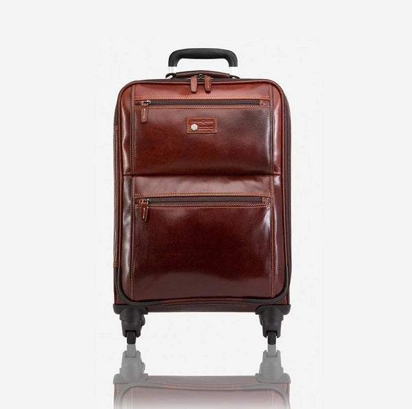 Jekyll And Hide Oxford 4 Wheel Cabin Trolley 50cm Tobacco