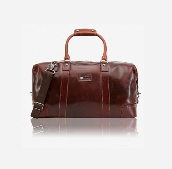 Jekyll And Hide Oxford Small Weekender Duffel Bag Tobacco