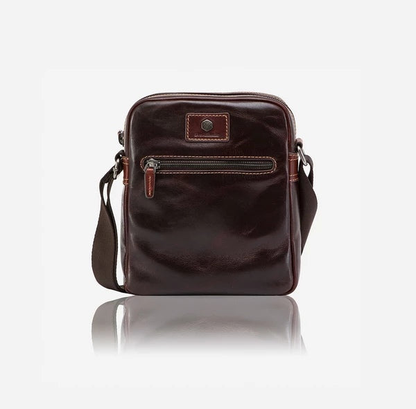 Jekyll And Hide Oxford Compact Crossbody/Sling Organiser Tobacco
