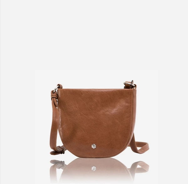 Jekyll And Hide Chelsea Rounded Ladies Crossbody/Sling Bag Tan