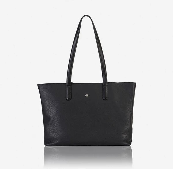Jekyll And Hide American Unstructured Ladies Tote Handbag Black