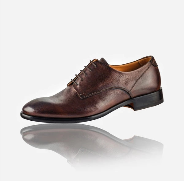 Jekyll And Hide Napoli Men's Leather Lace Up Shoe Brown