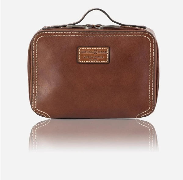 Jekyll & Hide Montana Wash Bag Brown
