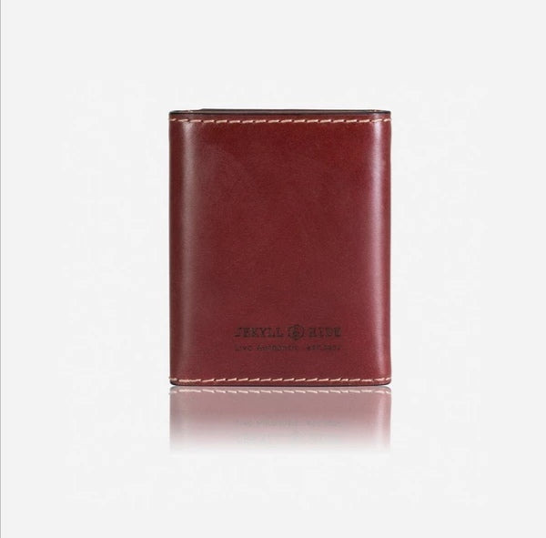 Jekyll And Hide Texas TriFold Wallet/Card Holder Red