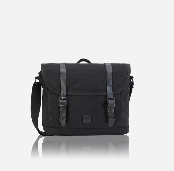 Brando Canvas Classic Work Messenger Black